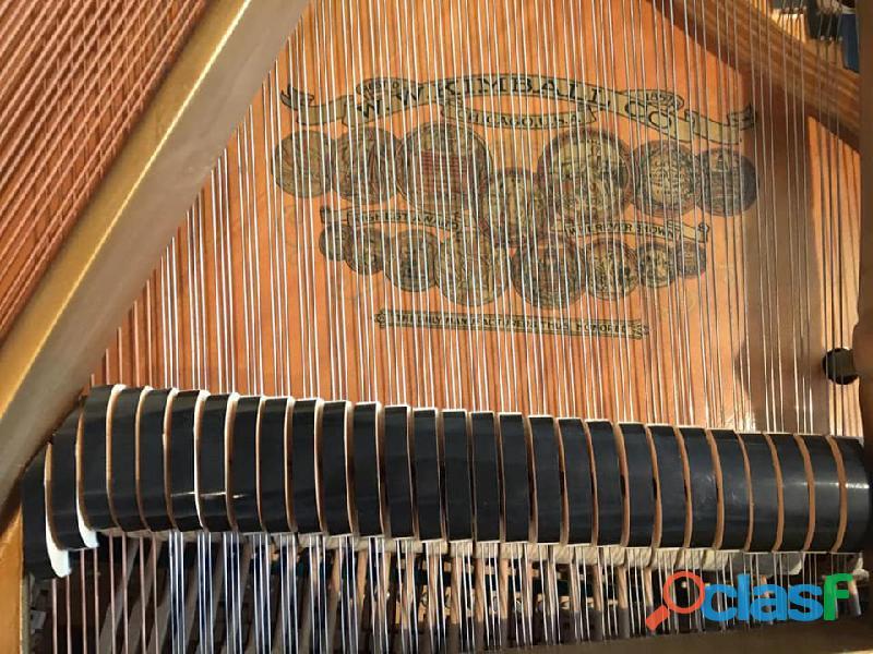 "Hermoso Piano de 1/4 Cola marca ""Kimbal"" 5"
