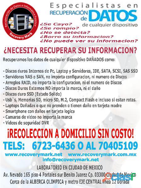 Recovery Mark   Recuperación de información forense 1