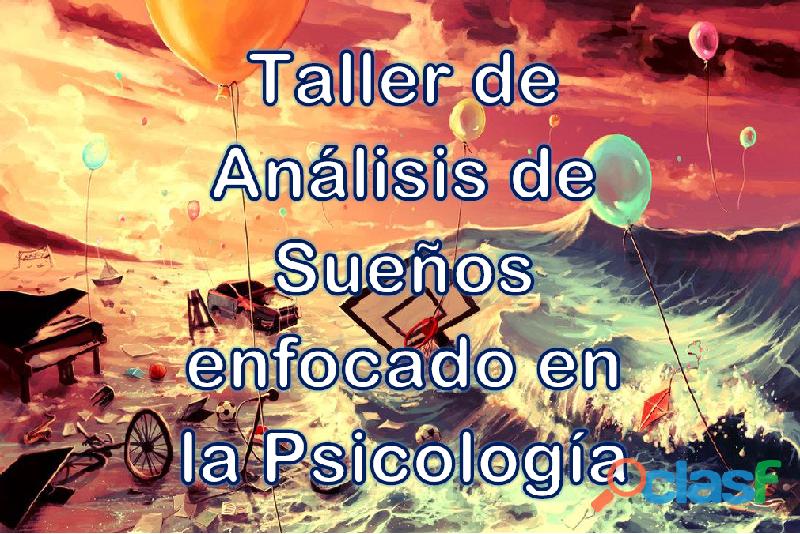 Taller de análisis de sueños enfocado en la psicología