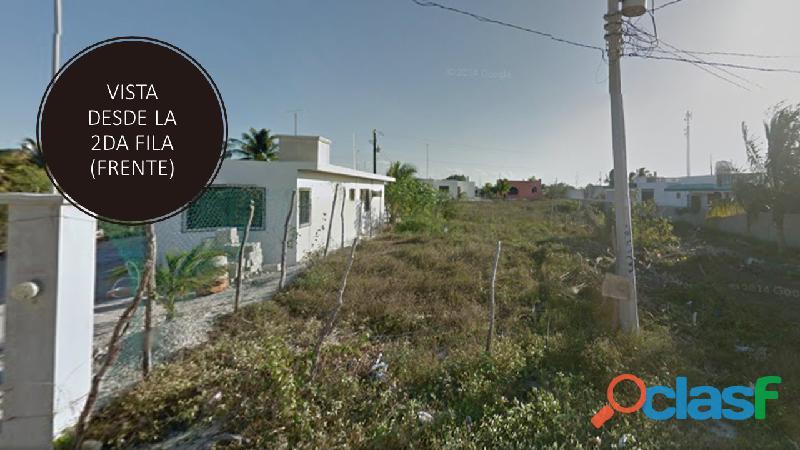 venta de terreno en Chicxulub Puerto 1