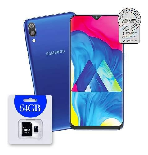 Celular Samsung Galaxy M10 16gb Ram 2g Nuevo + Micro Sd 64gb
