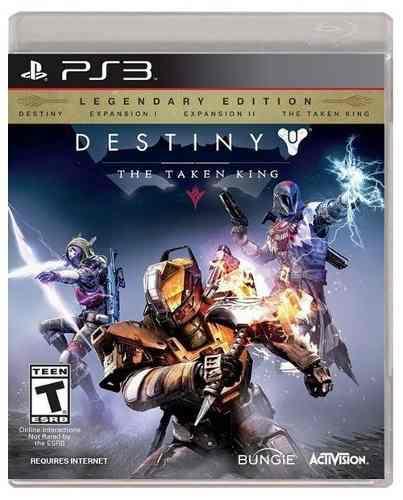 Destiny the taken king ps3 playstation 3 nuevo sellado juego