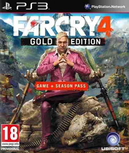 Far cry 4 gold edition + season pass ps3