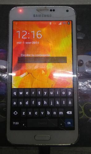 Galaxy s5 clon pantalla logica para piezas o completo