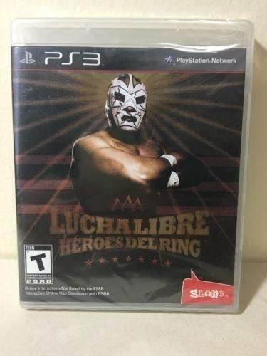 Juego lucha libre aaa heroes del ring ps3 usado original