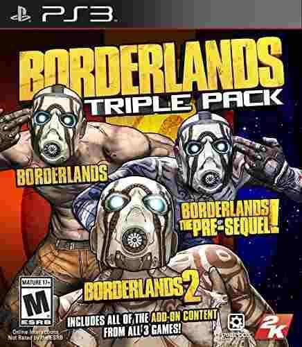 Juegos,borderlands triple pack - playstation 3