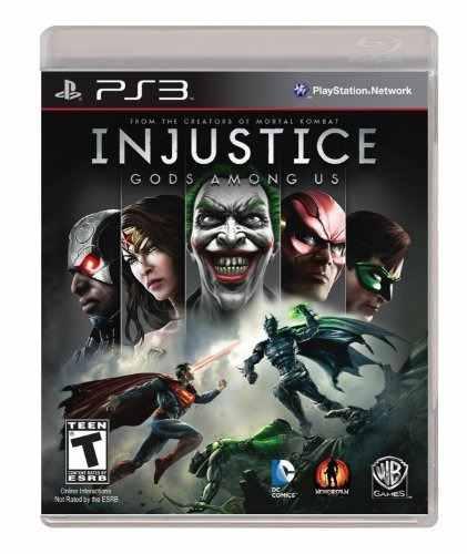 Juegos,injustice dioses entre nosotros - ps3 playstation..