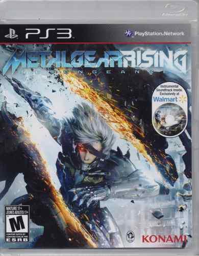 Metal gear rising revengeance ps3 playstation 3 juego karzov