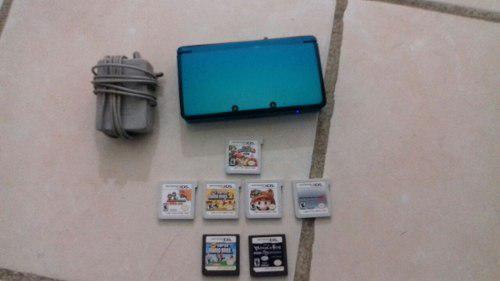 Nintendo 3ds + juegos