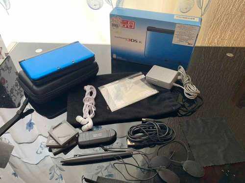 Nintendo 3ds xl, accesorios y chip