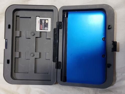 Nintendo 3ds xl color azul con 5 juegos!