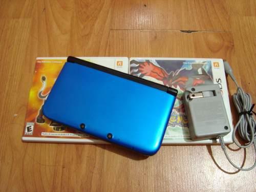 Nintendo 3ds xl con 2 juegos