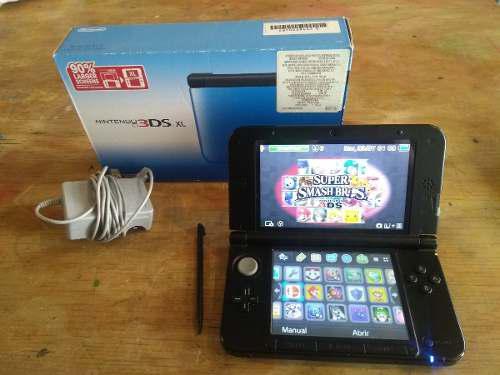 Nintendo 3ds xl con juegos digitales incluidos