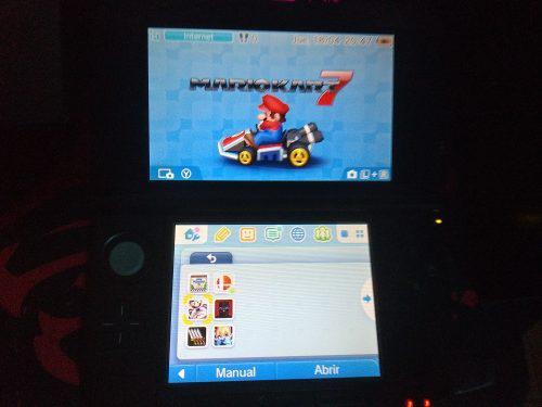 Nintendo 3ds xl con juegos originales digitales