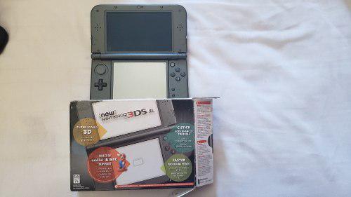 Nintendo 3ds xl con juegos y cargador