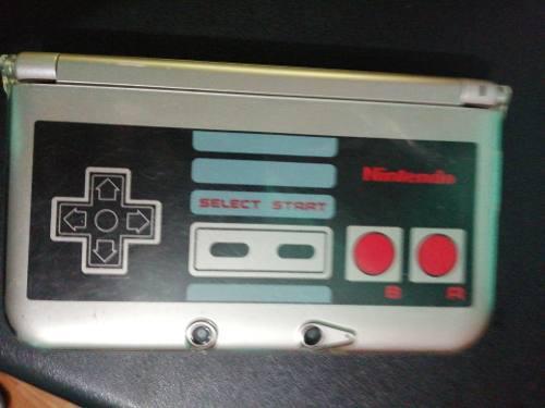 Nintendo 3ds xl edición ness, memoria 4 gb