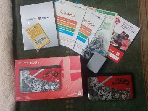 NINTENDO 3DS XL EDICIÓN SUPER SMASH BROS. ROJA (SEMINUEVO) segunda mano  México (Todas las ciudades)