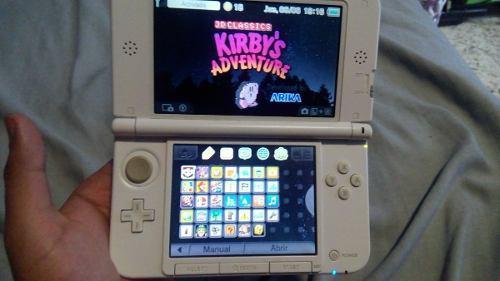 Nintendo 3ds xl hackeado con muchos juegos