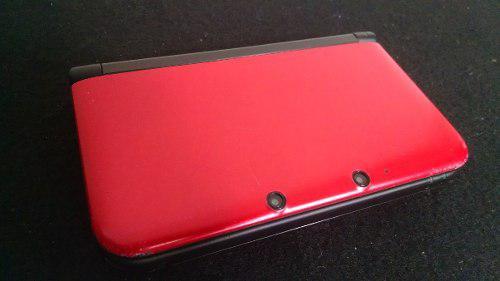 Nintendo 3ds xl ultra sol ultra luna roja + 32 juegos 32gb