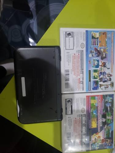 Nintendo new 3ds xl + 2 juegos de pokémon