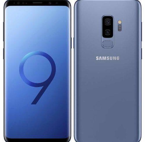 Samsung galaxy s9 plus azul 64gb libre de fábrica garantia