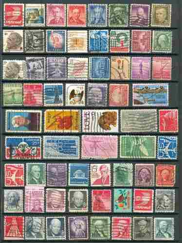 Sc () u.s. lote 18 timbres de estados unidos de america 65 e