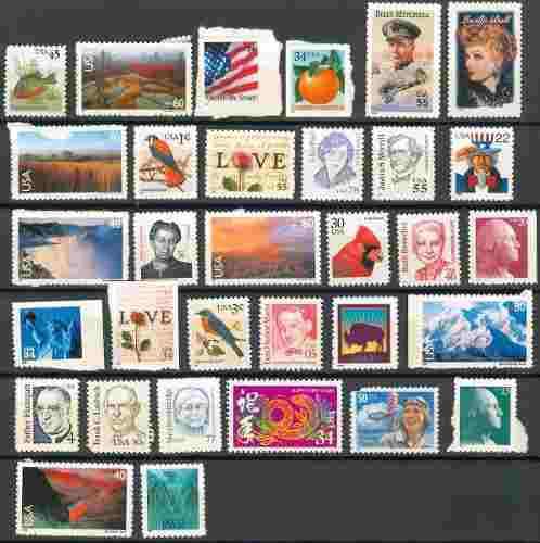 Sc () u.s. lote 37 timbres de estados unidos de america 32 e