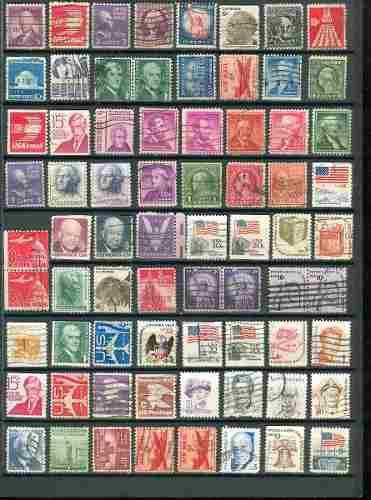 Sc () u.s. lote 5 timbres de estados unidos de america 72 e