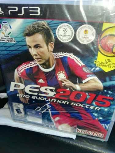 Videojuego ps3 pes 2015 soccer