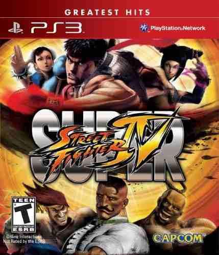 Videojuego super street fighter iv - playstation 3