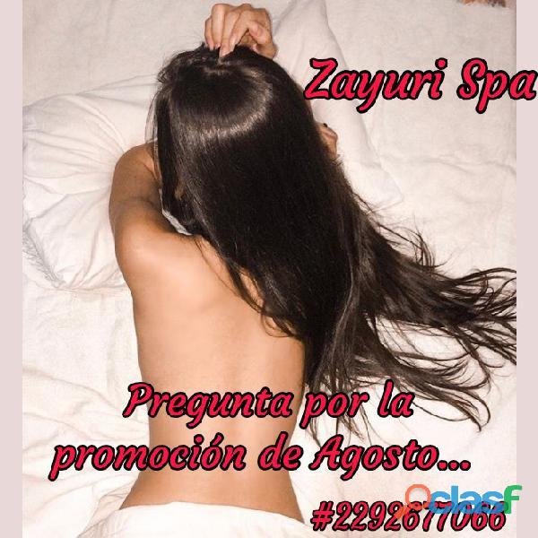 La mejor manera de librarte de la tentación de zayuri spa es caer en ella.