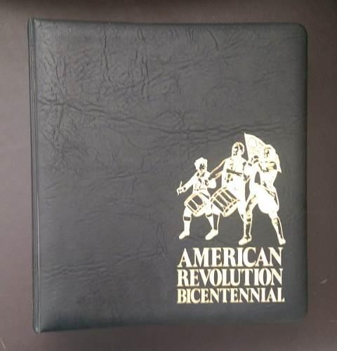 Lbum de sobres conmemorativos del bicentenario de e.u.