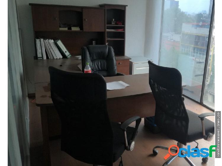Excelente oficina amueblada de 66 m2 roma norte
