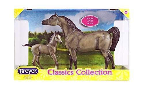 Breyer classics gray sport conjunto de caballo y potro depor