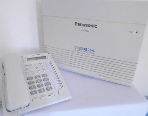 Conmutador tes824 panasonic con teléfono kx-t7730