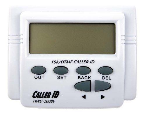 Identificador de llamadas pantalla lcd registro de llamadas