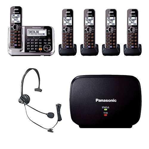 Panasonic kx tg7875s link2cell bluetooth teléfono w / telé