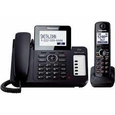 Panasonic teléfono contestadora kx-tg6671b inalámbrico id