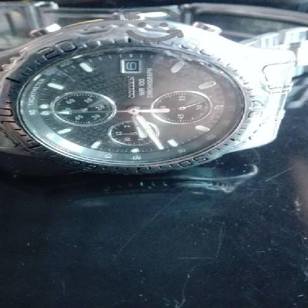 Reloj citizen chrono original bonito acero