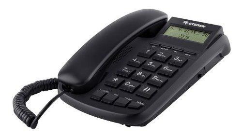 Telefono alambrico steren identificador de llamadas tel-225