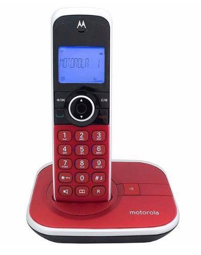 Telefono inalambrico motorola dect 6.0 gate4800r rojo