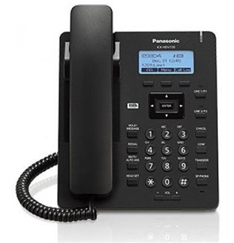 Telefonopanasonic kx-hdv130xb alámbrico pantalla lcd 2.3p