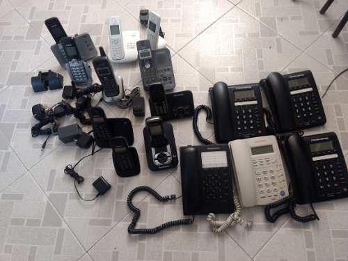 Telefonos inalambricos c/extension telefonos convencionales.
