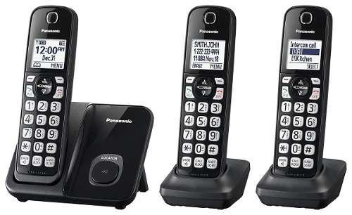 Telefonos inalambricos panasonic paquete de 3 telefonos