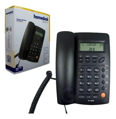 Teléfono alambrico con identificador de llamadas tc-9200