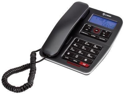 Teléfono alámbrico steren identificador de llamadas