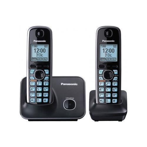 Teléfono con identificador de llamadas panasonic kx-tg4112