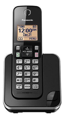 Teléfono inalámbrico 15 tonos altavoz panasonic kx-tgc350b