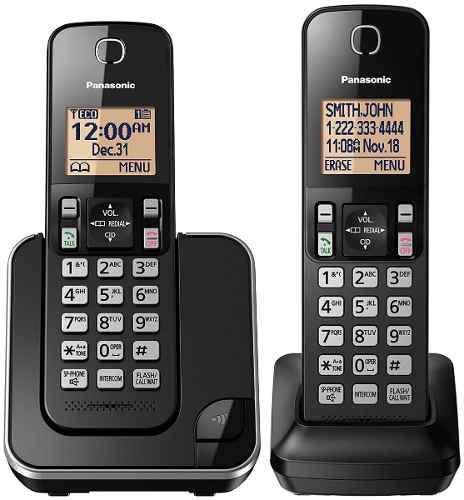 Teléfono inalámbrico 15 tonos altavoz panasonic kx-tgc352b