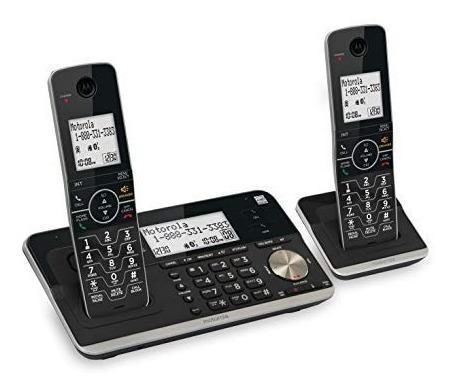 Teléfono inalámbrico doble motorola rt802 dect 6.0